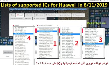 Huawei ICs Chips Parts